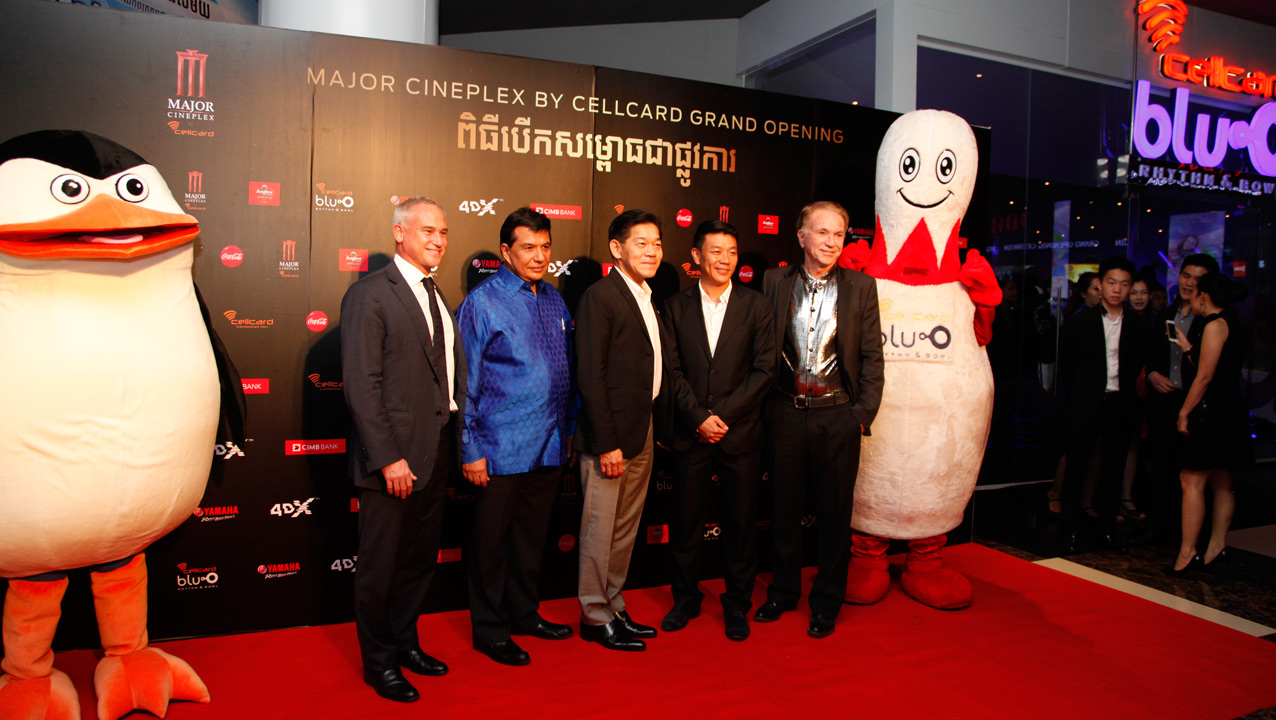 Local and foreign executives/representatives of Major Cineplex.