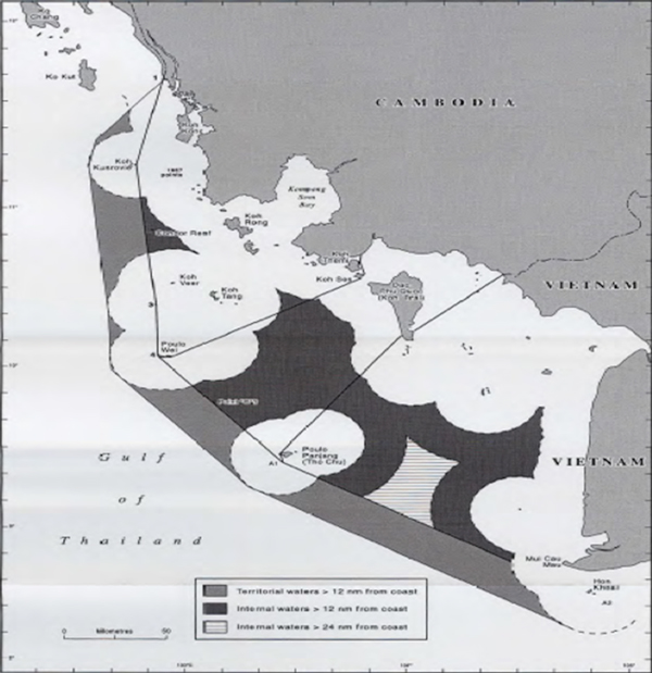 Cambodia's 1982 Straight Baselines Claim and Vietnam's Straight Baselines Claim in the Gulf of Thailand